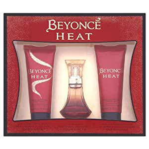 Beyonce Gift Set includes Heat Eau de Perfume 30ml/ Shower Gel 75ml/ Body Lotion 75ml