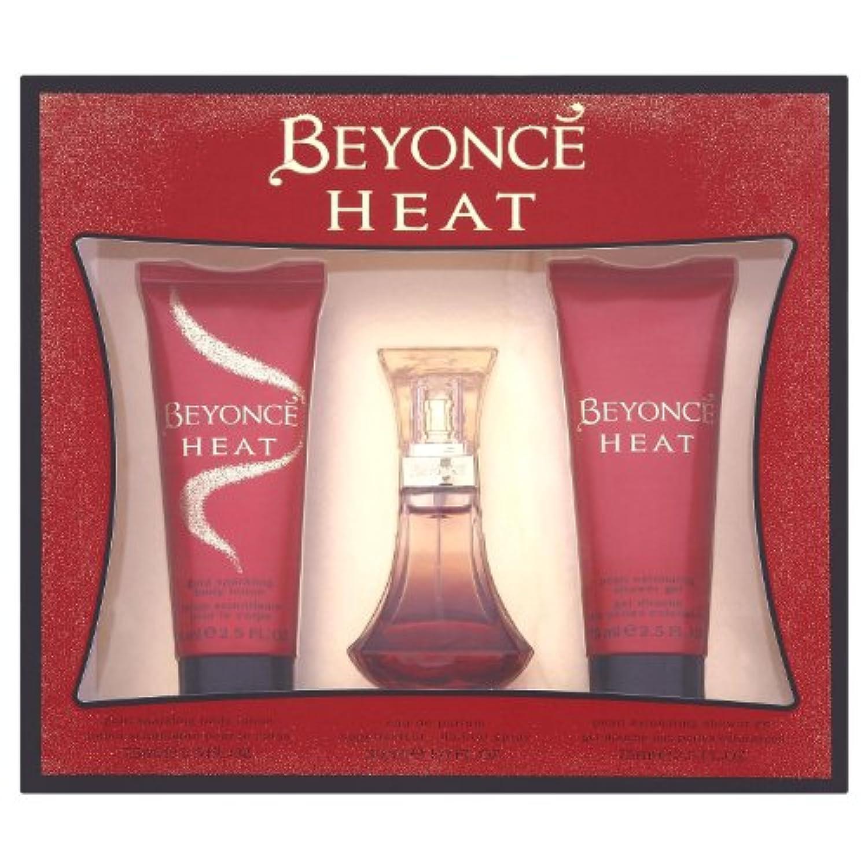 Beyoncé Heat Coffret Cadeau Avec Eau De Parfum 30 Ml Gel Douche 75