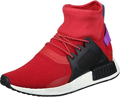 adidas NMD_xr1 Winter, Chaussures de Fitness Mixte Adulte Multicolore - Rouge écarlate/noir/violet (Escarl / Negbas / Pursho)