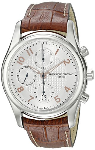 Frederique Constant Runabout FC392RV6B6 43mm Automatic Stainless Steel Case Brown Calfskin Anti-Reflective Sapphire Men's Watch