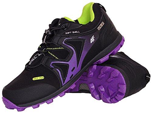 4F donna scarponcini da trekking & scarpe da trekking obdt003 Viola