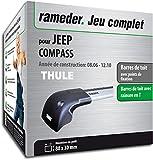 Rameder Pack Barres de Toit WingBar Edge pour Jeep Compass (119055-05605-1-FR)