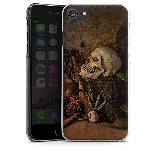 Apple iPhone X Silikon Hülle Case Schutzhülle Tod Schädel Totenkopf Hard Case transparent