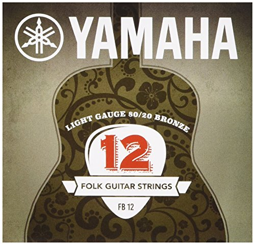 Yamaha FB 12 Westerngitarrensaiten 80/20 Bronze Super Light (1er Set)