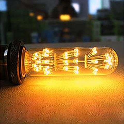 XinRong Retro Vintage Edison Bulbs 220V E27 3W Decorative Warm White Light Bulb,Christmas Holiday Indoor Pendent Decoration