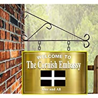 Personalised Hanging Pub/Bar Sign 30cmx20cm cornish large sign