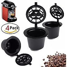 / zeuspod nachf/üllbar wiederverwendbar Kaffee Kapseln Pods f/ür Nespresso/ passend f/ür alle Nespresso Maschinen aus nach Oktober 2010 /5/Kaffee Pods/
