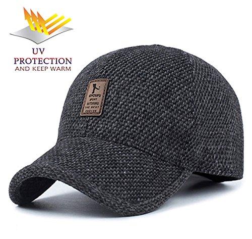 Sport Hüte Für Männer und Frauen Reisekappe Geeignet Für Golf Angeln Klettern Baseball Kappe (schwarz) (Frauen Baseball-kappen)