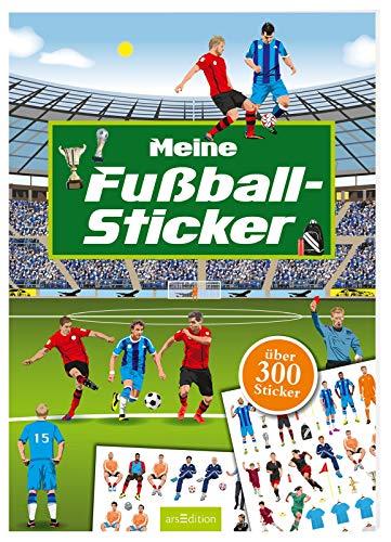 Meine Fußball-Sticker: Ein Stickerbuch mit über 300 Stickern (Mein Stickerbuch) (Fußball-wm-sticker)