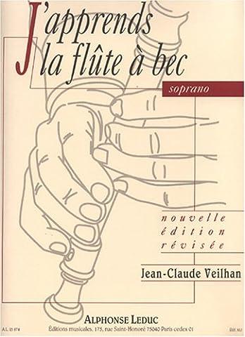 Jean-Claude Veilhan: J'Apprends la Flûte a Bec