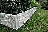Beau Jardin en kit à 2,34x 20cm pliante de Nouveau Modèle Clôture Clôture en pierre synthétique