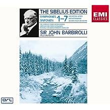 Sibelius : Les Sept Symphonies - Karelia - Rakastava - Finlandia - Valse triste [Import anglais]