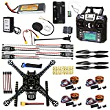 CS PRIORITY DIY GPS Drone Racer APM 2.8 Flight Controller S600 4-Axis Unassembled Quadcopter Kit with Landing Gear FS-I6...
