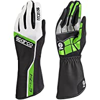 Sparco 00255311VF Guantes, Verde, 11