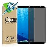 Zenzus Samsung Galaxy S9 Plus Protection en verre trempé Ultra résistant aux chutes, anti-rayures, protection de la vie privée (se noircit sous des angles spécifiques)