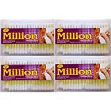 Ear Buds Million Catton Buds Pack Of 100* Pack Of 4