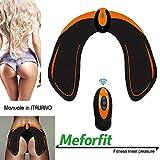 MEFORFIT Elettrostimolatore Muscolare Professionale, Glutei + Gambe, migliora la Forma dei Glutei, riduzione Massa grassa, Aumento muscolatura, Aumento della Forza, Fitness