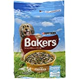 Bakers Complete Puppy Dry Dog Food with Tasty Chicken and Country Vegetables, 2.7kg