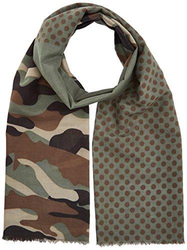 James & Nicholson Unisex Schal Camouflage Scarf Mehrfarbig (Olive/Brown), One Size
