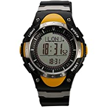 SUNROAD FR828A Herren Sports Watch with Digital Fishing Barometer Thermometer Weather Forecast