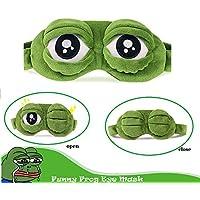 Bllomsem Augenmaske Schlaf, Flusen Karikatur Frosch Augen Maske Schlafen Lustige Neuheit Augen Abdeckung Eyeshade... preisvergleich bei billige-tabletten.eu
