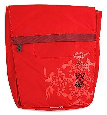 Rote Tablet-Tasche im City-Look für Samsung Galaxy Note Tablets: 10.1