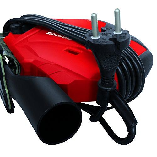 Einhell Stichsäge TE-JS 100 (750 W, max. 100 mm, 45° Schrägschnitt, Hubzahlregelung, 4-Stufen Pendelhub, Absaugadapter, Parallelanschlag, LED-Licht, Koffer) - 8