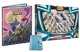 Coffret Lucario GX 210 PV en français avec 1 Classeur Pokemon A4 capacité 180 Cartes et 1 Porte-Cartes Format Universel Lagiwa® Offert