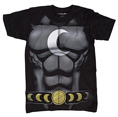 Kostüm Knight Moon - Marvel I Am Moon Knight Herren Kostüm T-Shirt | S