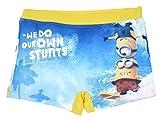 Boxer de bain tout imprimé enfant garçon Les Minions Bleu/jaune de 3 à 8ans