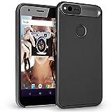 Google Pixel Hülle, Orzly® AirFrame für das Google Pixel SmartPhone (2016 Klein Handy Modell) – Leichtgewichtige & Slim-Fit Bumper Hülle für das Google Pixel (5.0 ZOLL Version) – SCHWARZ