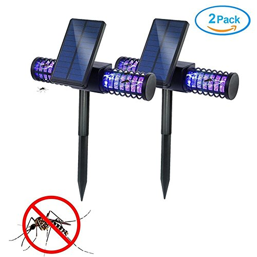 solar-bug-zapper-lamphomecube-4-led-uv-outdoor-light-insect-killer-zapper-mosquito-killer-fly-zapper