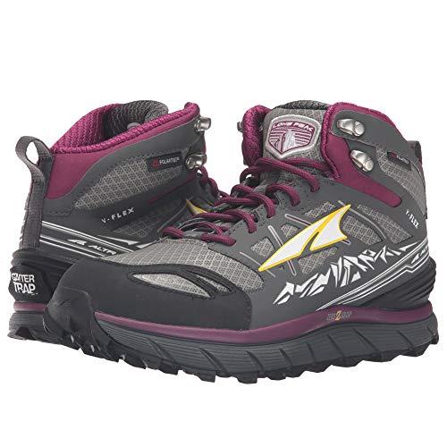 Altra Lone Peak 3Mid Neo Zapatillas de Running–Mujer, Gris/púrpura