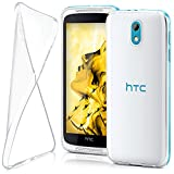 HTC Desire 526G Hülle Silikon Transparent Klar [OneFlow
