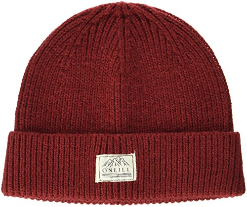O'Neill Herren Bm Bouncer Wool Mix Beanie Headwear, Sun-Dried Tomato, One Size -