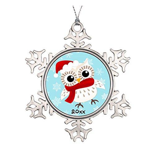 Schnee Eule Weihnachten Ornament ()