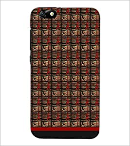 PrintDhaba Tower Pattern D-1790 Back Case Cover for HUAWEI HONOR 4X (Multi-Coloured)
