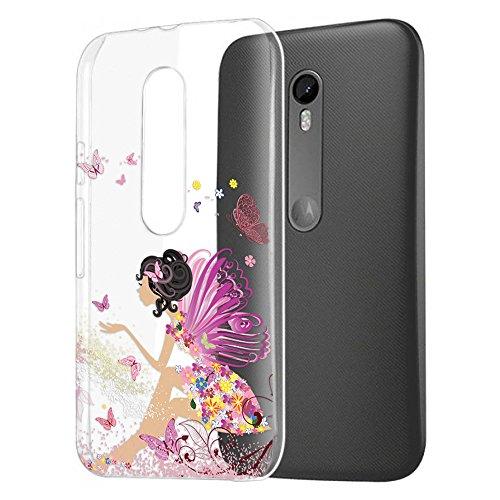 MTT Designer Pattern Printed Soft Jelly Back case Cover for Moto G3 & Moto G Turbo (3rd Gen) (Design3)