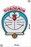 Patches - Doraemon - Jap. Comic - Cartoon - Iron on Patch - Applique embroidery Écusson brodé Costume Cadeau- Give Away'