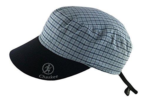 1ecd03d1b72 Chaskee - Berretto Reversibile Karo con Visiera in Neoprene e Protezione UV  80