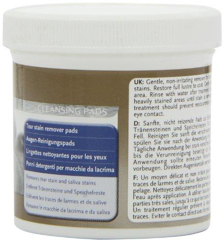 8in1 Augen-Reinigungspads (für eine wirkungsvolle und schonende Reinigung, speziell für die Augenhygiene bei Hunden entwickelt), 1 wiederverschließbare Dose (90 Stück) - 3