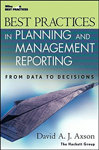 Best Practices In Planning And Management Reporting By David A J Axson 2003 03 07 Pdf Download Suryakondwani