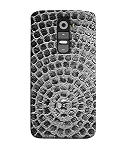 PrintVisa Designer Back Case Cover for LG G2 :: LG G2 Dual D800 D802 D801 D802TA D803 VS980 LS980 (Construction Wall Stone Round Design Brick)