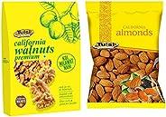 Tulsi Walnut Kernels, 200g and Tulsi Almonds, 1kg