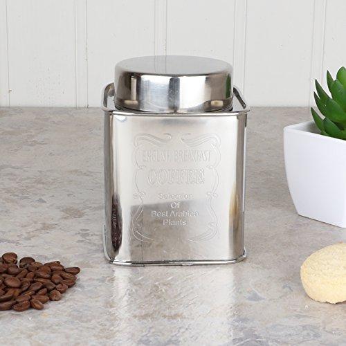Dibor Französischer Kaffeebehälter aus Edelstahl, stilvoller, luftdichter Behälter für Ihren...