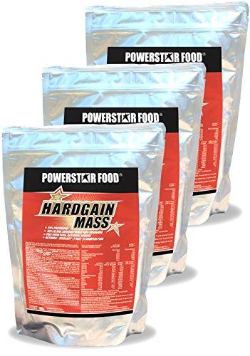 WEIGHT GAINER für HARDGAINER & MASSEPHASE – 406 kcal pro Kalorienshake – für mehr Masse, Kraft & schnelleren Muskelaufbau – 1600 g Zip-Beutel – Made in Germany (Coconutcream, 4800 g = 3 Beutel)
