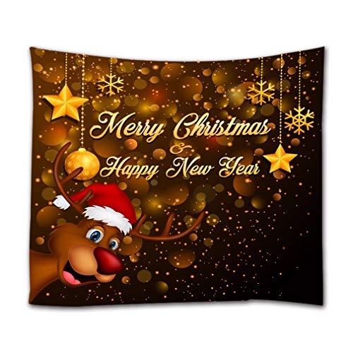 A.Monamour Tapices Pared Feliz Navidad Feliz Año