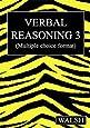 Verbal Reasoning 3: Bk. 3