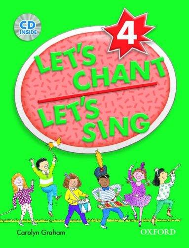 Let's Chant, let's Sing : Volume 4 (1CD audio)