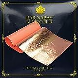 Barnabas Echtes Blattkupfer, 14 X 14cm, 25 Blätter in Blattsammlung